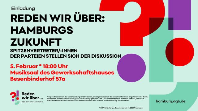 Reden wir über: Hamburgs Zukunft