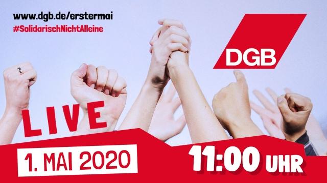 Livestream am 1. Mai 2020 zum Tag der Arbeit