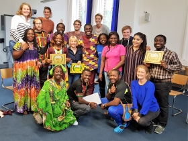 Kameruner Lehrerinnen und Lehrer besuchen Hamburg