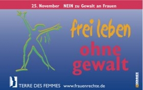 """frei leben ohne gewalt"""
