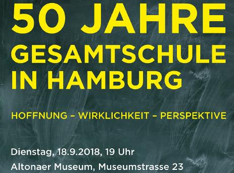 50 Jahre Gesamtschule in Hamburg