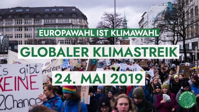 Klimastreik zur Europawahl