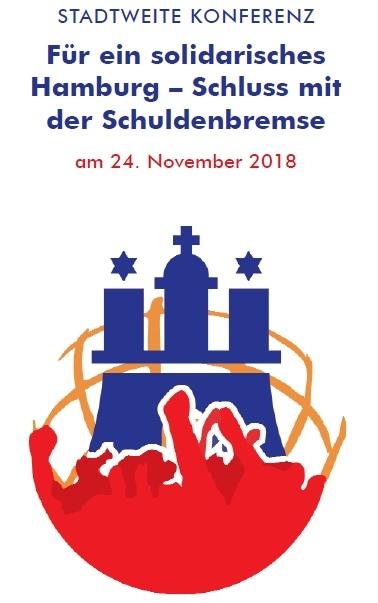 Stadtweite Konferenz: Für ein solidarisches Hamburg – Schluss mit der Schuldenbremse