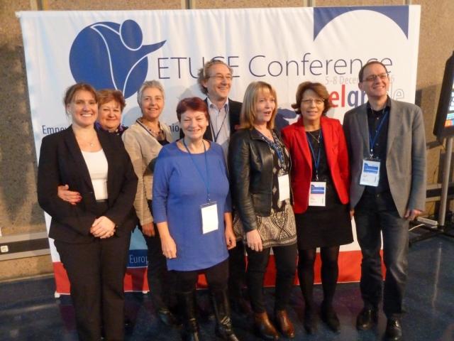 Foto: Der neue EGBW-Vorstand, Foto: Manfred Brinkmann