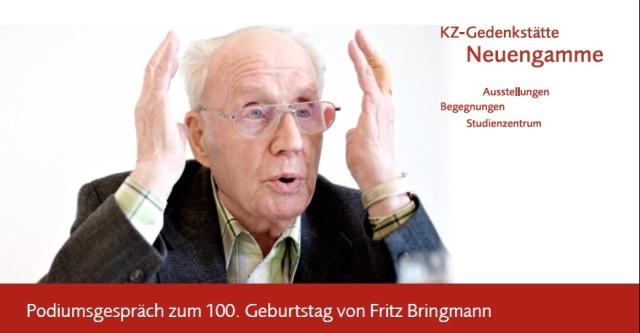 Podiumsgespräch zum 100. Geburtstag von Fritz Bringmann