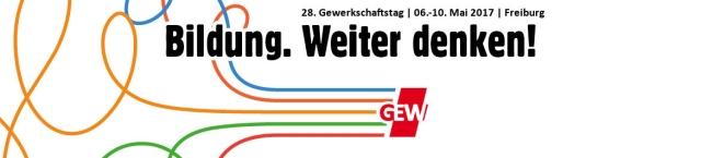 28. Bundesgewerkschaftag der GEW in Freiburg