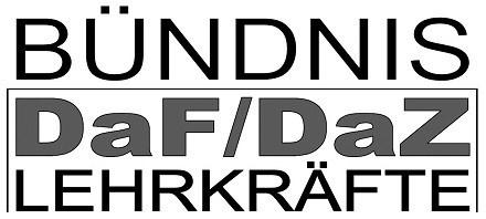 Bündnis DaF/DaZ Lerkräfte