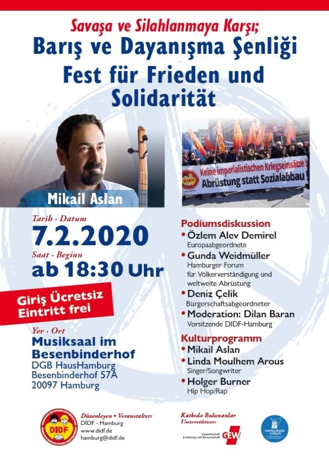Friedens- und Solidaritätsfest