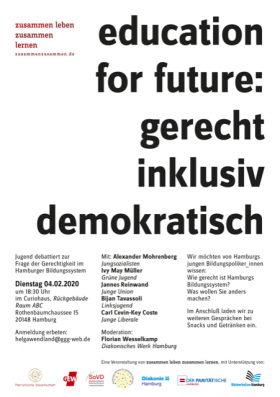education for future: gerecht inklusiv demokratisch