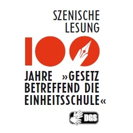 """Szenische Lesung: 100 Jahre """"Gesetz betreffend die Einheitsschule"""""""
