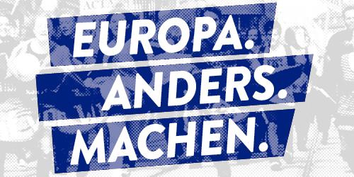 Eoropa anders machen Logo