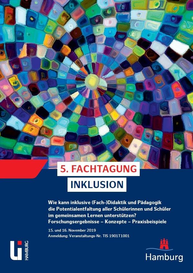 5. Fachtagung Inklusion am 15./16.11.2019