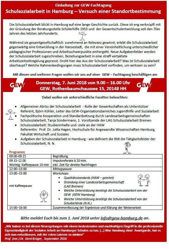 Schulsozialarbeit in Hamburg – Versuch einer Standortbestimmung