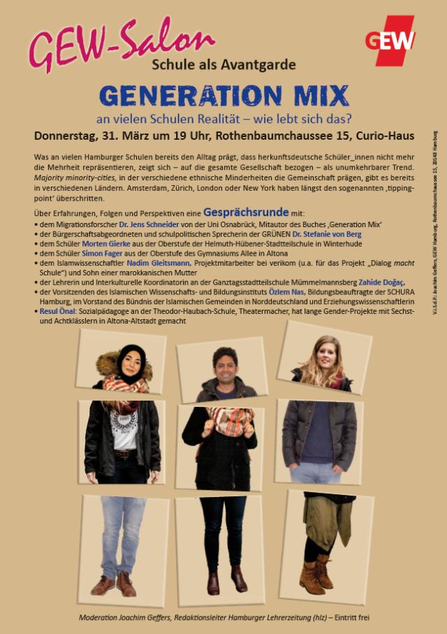Veranstaltung Generation Mix
