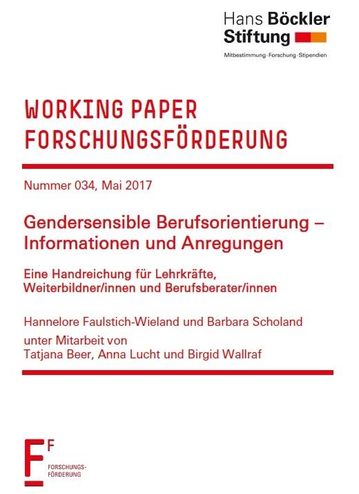 Faulstich-Wieland; Scholand: Gendersensible Berufsorientierung