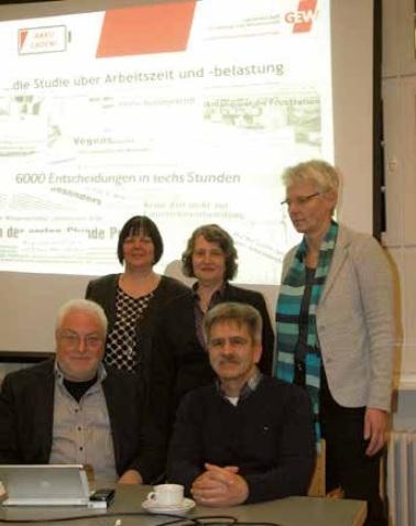 Foto: GEW-Vorsitzende aus HH, MV, HB, SH und NS / hlz