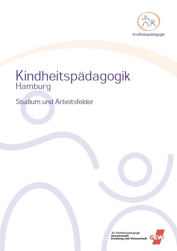 Foto: Cover der Broschüre Kindheitspädagogik der GEW Hamburg