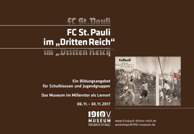 """""""FC St. Pauli im 'Dritten Reich' – die Ausstellung"""""""