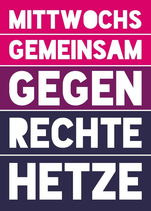 Rechter Hetze entgegentreten!