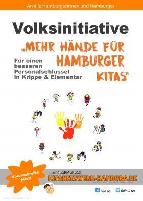 """""""Mehr Hände für Hamburgs Kitas"""""""