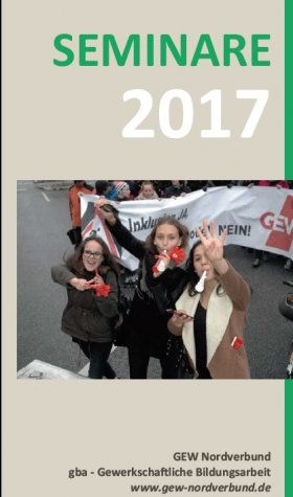 Seminare der gewerkschaftlichen Bildung 2017