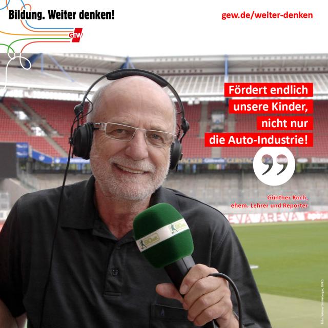 Günther Koch, ehem. Lehrer und Reporter