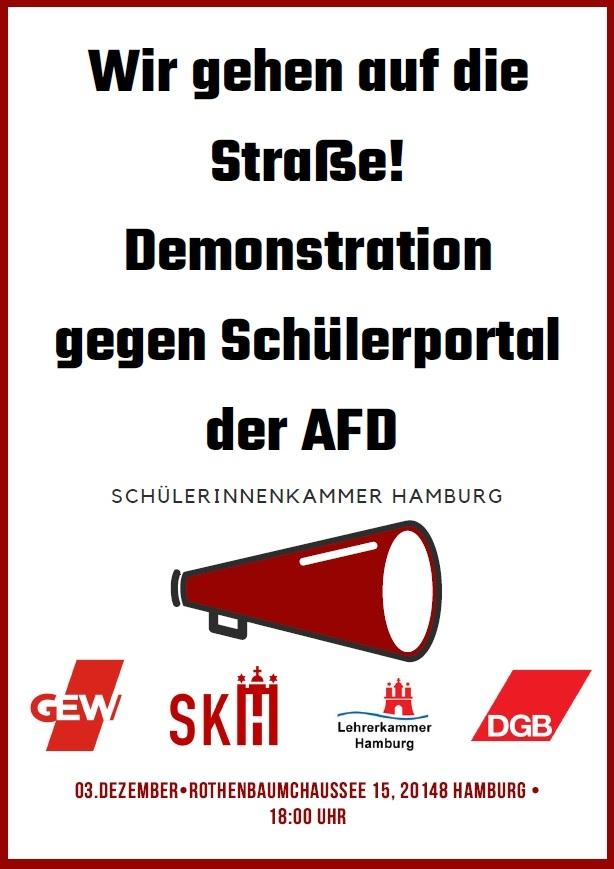 Aufruf SKH zur Demo am 3.12