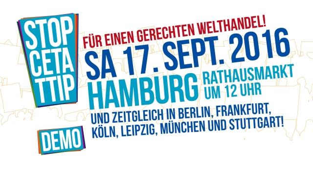 Demo 17.9 Hamburg