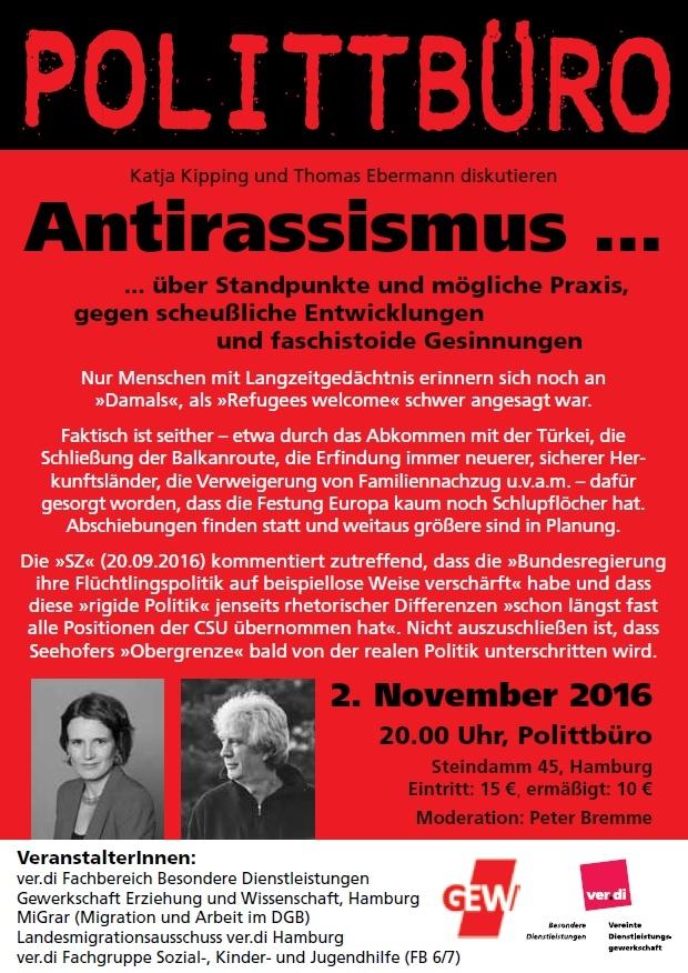 Veranstaltung Antirassismus