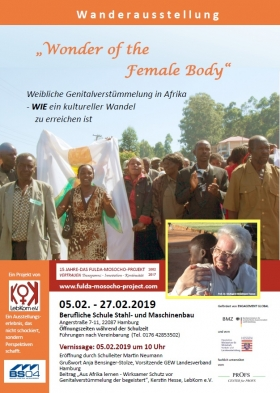 "Wanderausstellung ""Wonder of the Female Body"""