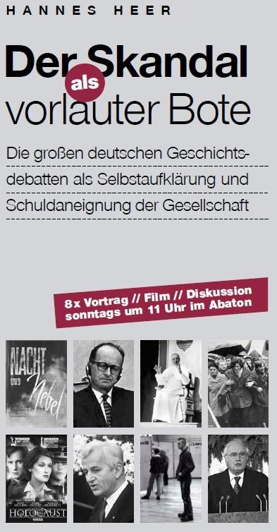 Veranstaltungen Hannes Heer