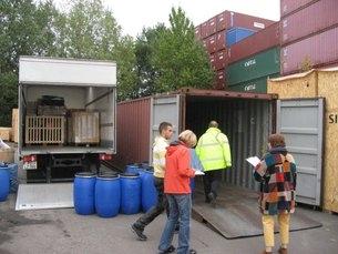 Foto Containerhafen