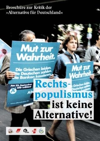 Broschüre zur Kritik der AfD
