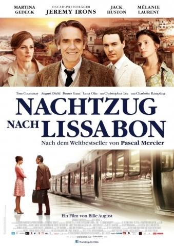 Filmplakat Nachtzug nach Lissabon