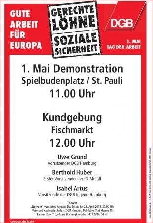 Plakat 1. Mai 2012