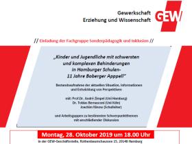 Kinder und Jugendliche mit schwersten und komplexen Behinderungen in Hamburger Schulen