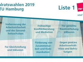 Wahlflyer TUHH 2019