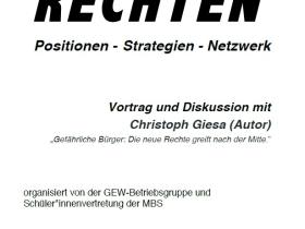 Veranstaltung an der Max-Brauer-Schule zur Neuen Rechten