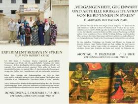 GEW unterstützt Veranstaltungen zur aktuellen Situation in Syrien