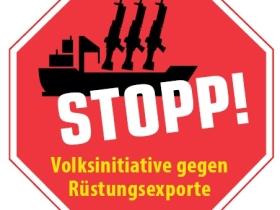 Volksinitiative gegen  Rüstungsexporte