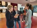 Doro Moritz (ehml. Vorsitzende GEW BaWü), Bernd Winkelmann (ehml. Vorsitzender GEW HB), Katja Karger (Vorsitzende DGB Hamburg), Liz Rech